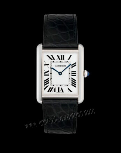 Symmetrical Aesthetics: Cartier Tank Replica Watches W5200003