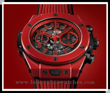 The Red Hublot Big Bang Replica Watches