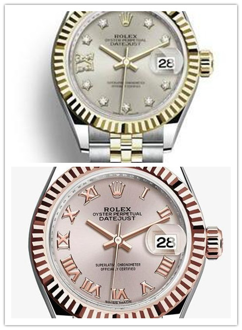 girl Datejust 31st crimson face stainless steel plus Everose Rare metal jubilee armlet Rolex replica Watches for women