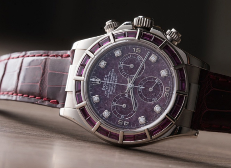 Classic Rolex replica Ref.116589 Garnet Pandion Watch2