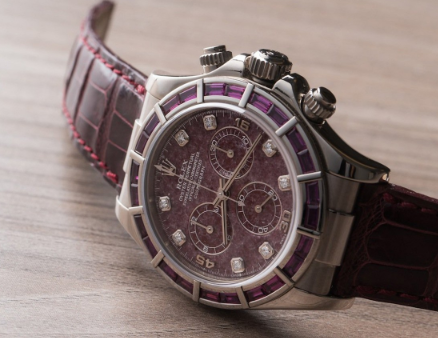 Classic Rolex replica Ref.116589 Garnet Pandion Watch3