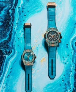Hublot Replica Big Bang Series Paraiba Watch 02
