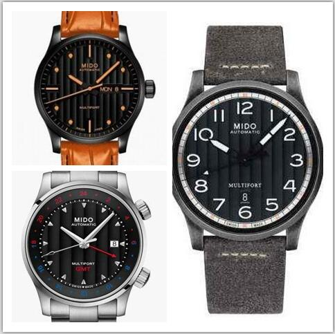 replica Mido Multifort watches